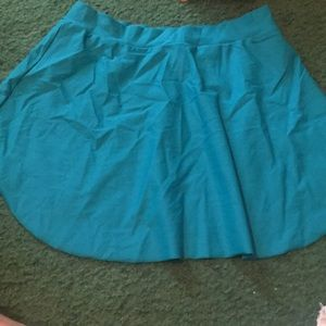 Capezio teal ballet skirt size medium.